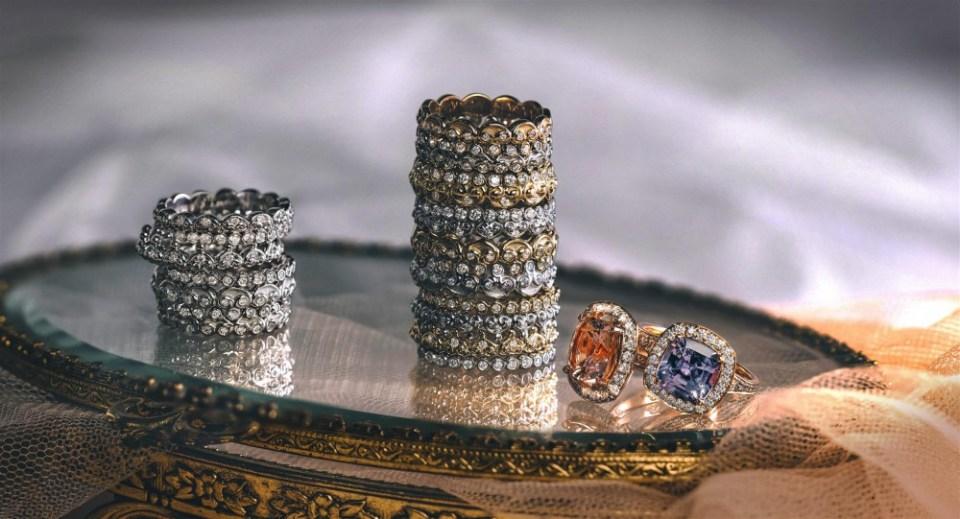 wedding rings B.P. de Silva