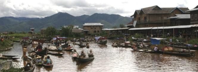 Myanmar Honeymoon - Inle Lake Five Days Market - Inle Lake Tourism