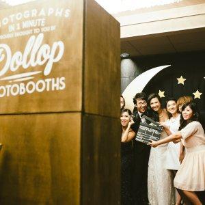 wedding photobooths singapore Dollop Photobooths