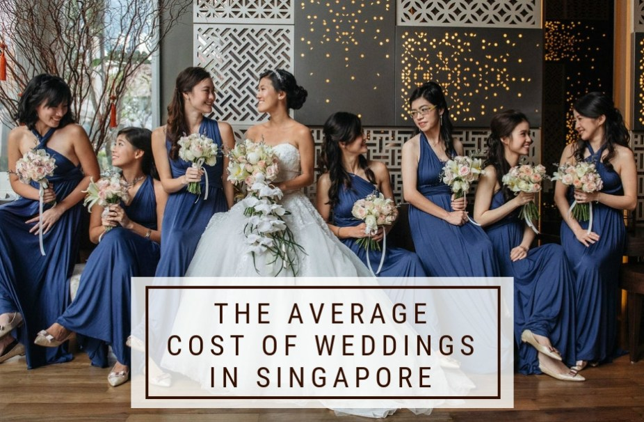 b0c2dc38 The Average Cost of Weddings in Singapore + Saving Tips (2018 Edition)