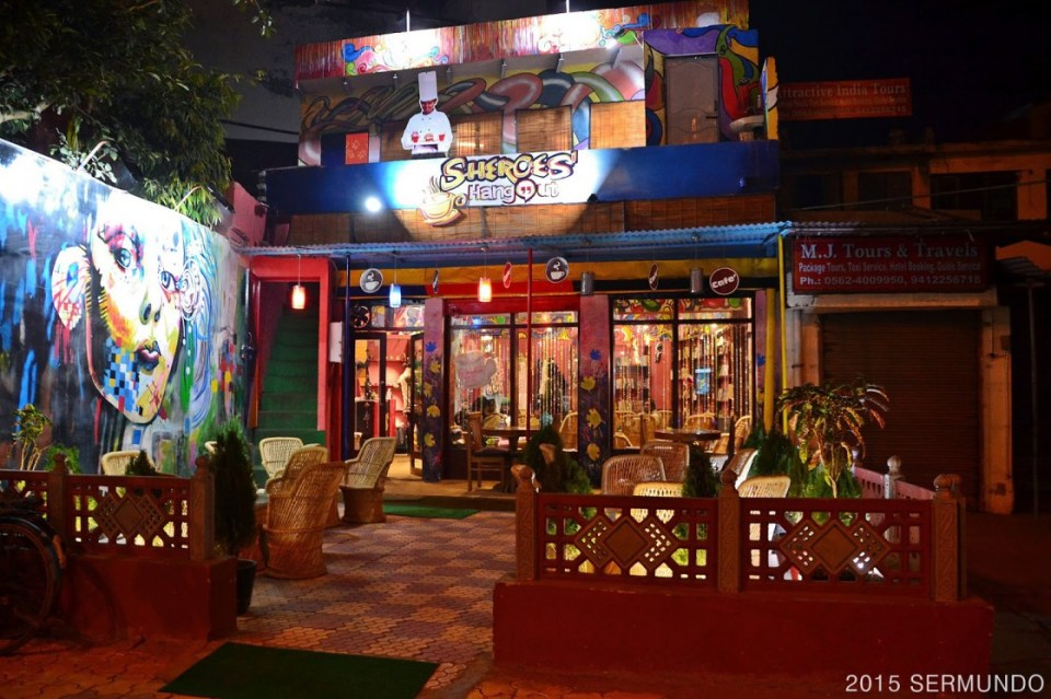 agra honeymoon Sheroes Hangout Cafe