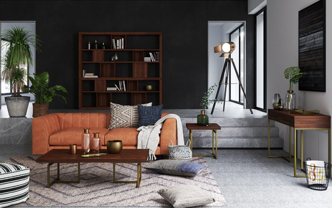 furniture shops in singapore industrial style