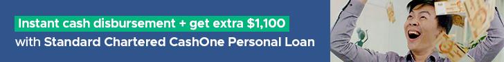 SingSaver Standard Chartered CashOne Personal Loan