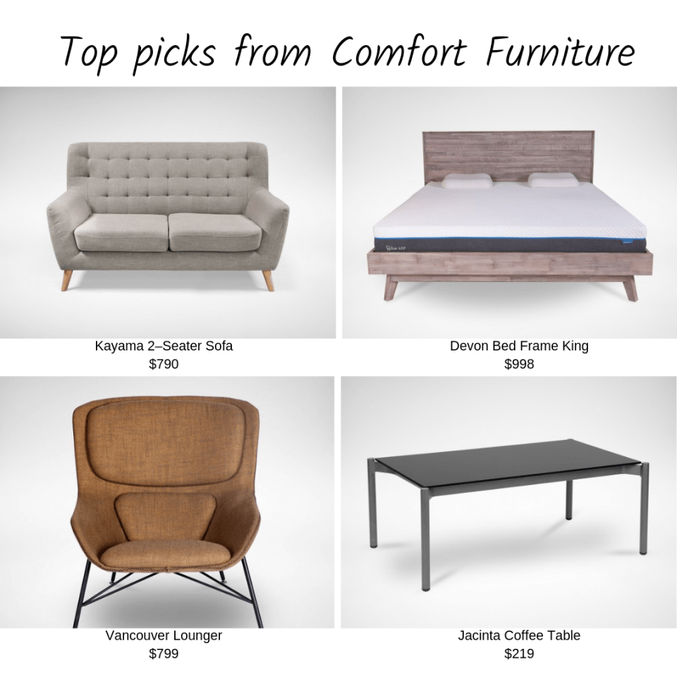 Online Furniture Stores Singapore Comfort Design Furniture Top Picks