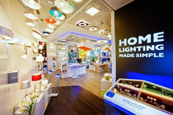 lighting shops singapore Philips Lighting