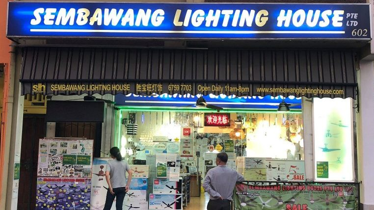 lighting shops singapore Sembawang Lighting House