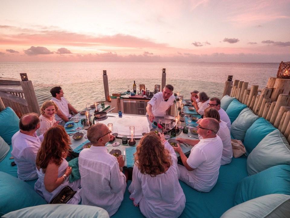 Soneva Fushi Honeymoon dining options