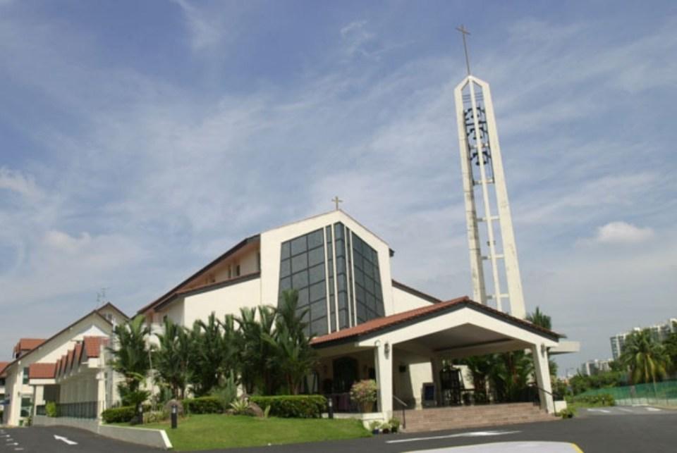 churches singapore Church of Saint Francis Xavier