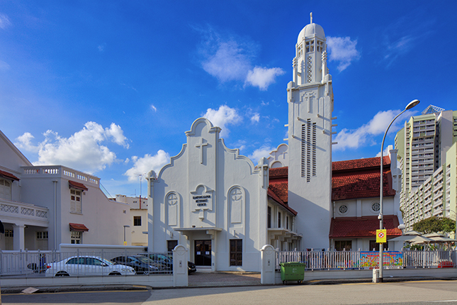 churches singapore Kampong Kapor Methodist Church