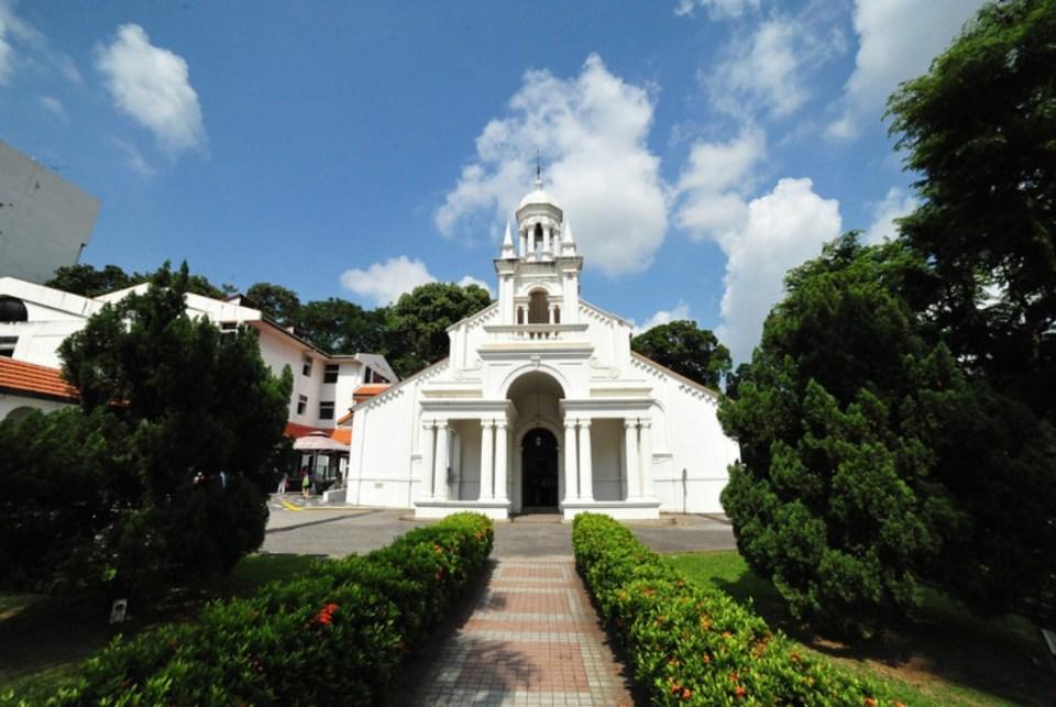 churches singapore Orchard Road Presbyterian Church