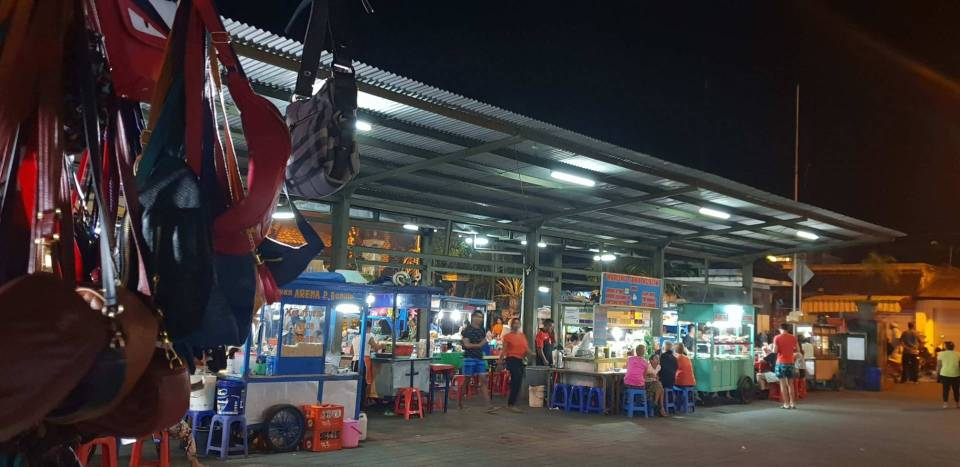 sanur night market bali