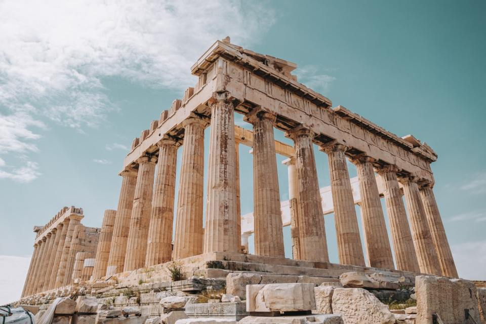 athens greece honeymoon