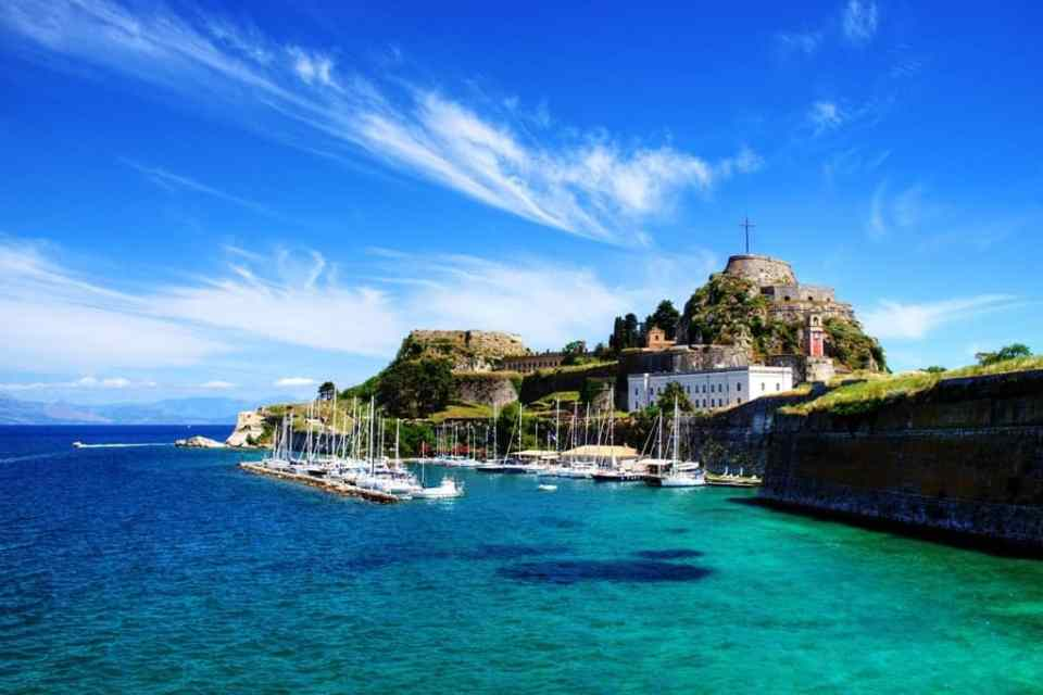 corfu greece honeymoon