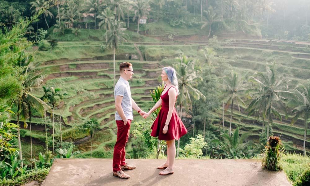 kuta bali honeymoon