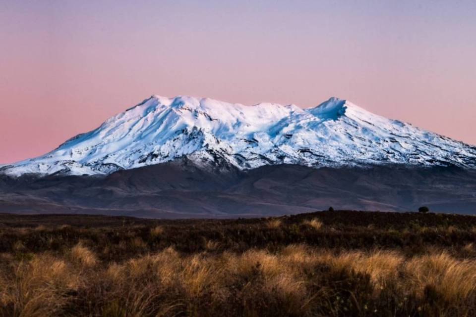 new zealand north island honeymoon ruapehu