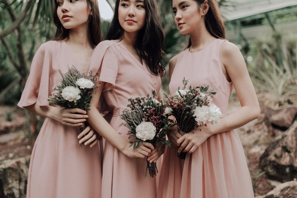 A for Arcade Bridesmaid Dresses Singapore