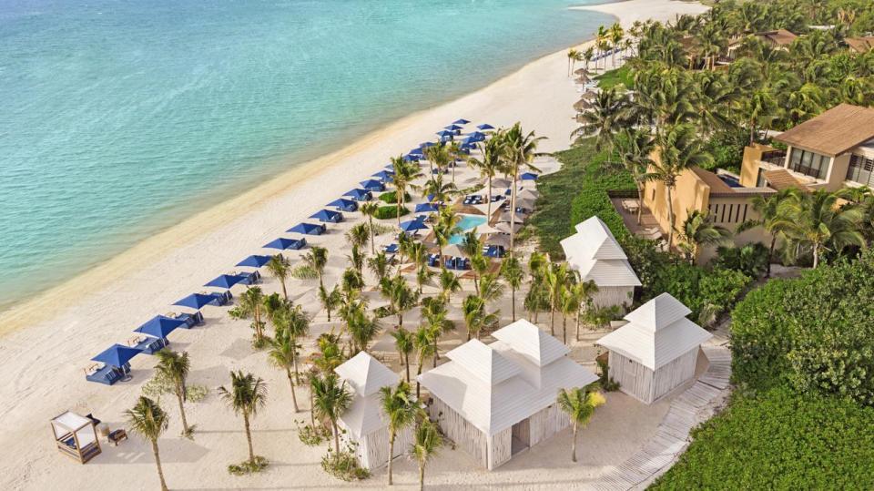 best honeymoon destination Banyan Tree Mayakoba