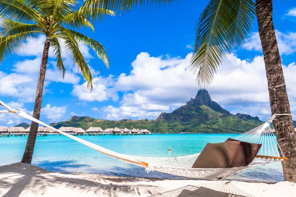 best honeymoon destination Bora Bora, French Polynesia