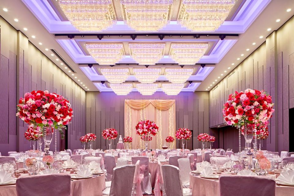 wedding venues singapore Sheraton Towers Singapore - Grand Ballroom