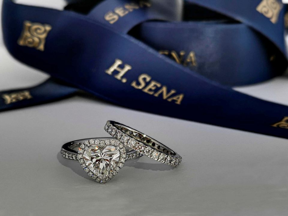 h sena wedding rings singapore