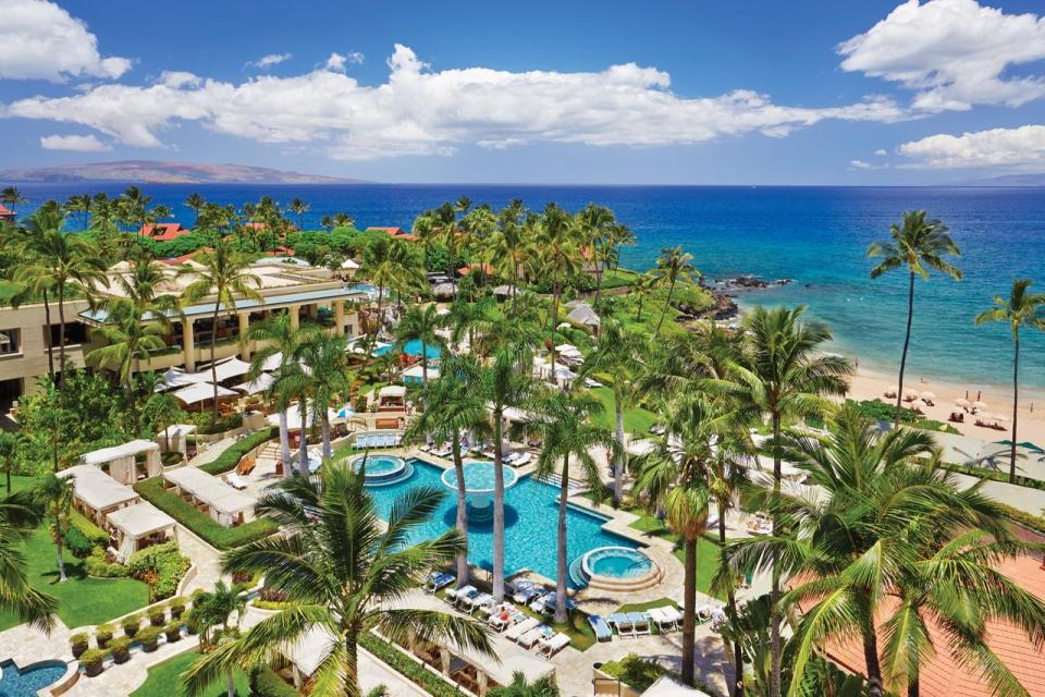 best honeymoon destination Four Seasons Resort Maui at Wailea
