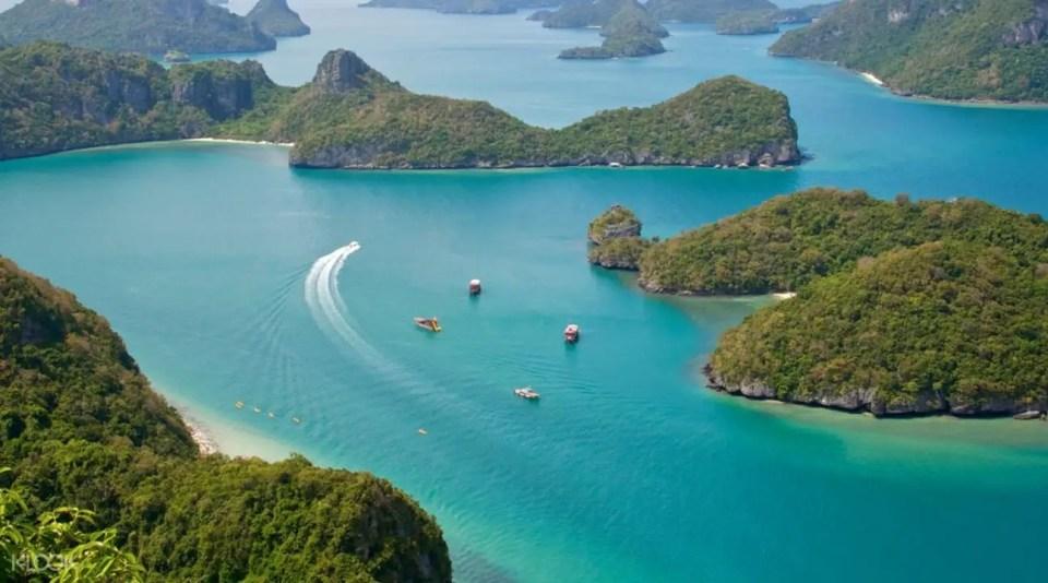 Koh Samui Thailand Ang Thong National Marine Park Tour