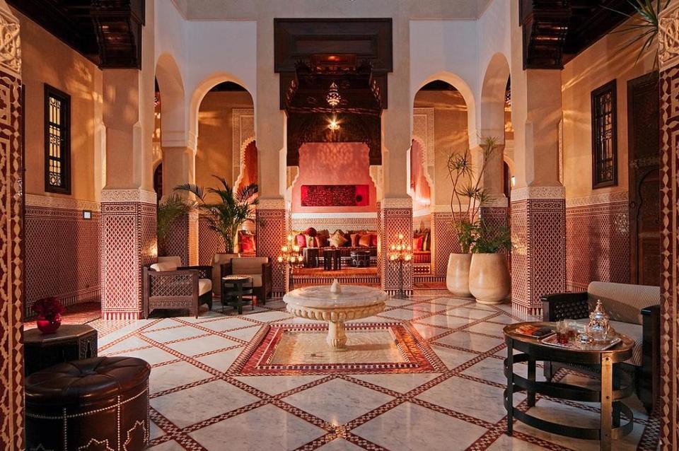best honeymoon destination Royal Mansour Marrakech