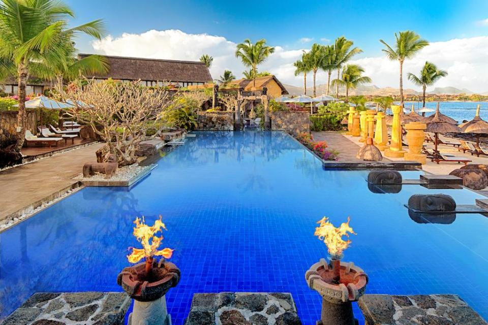 best honeymoon destination The Oberoi Beach Resort, Mauritius