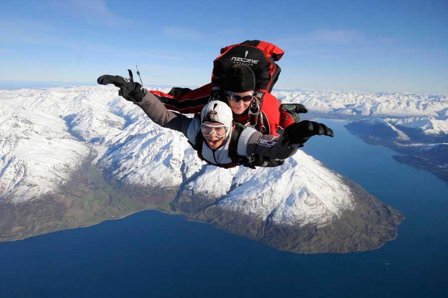 NZONE Tandem Skydive Queenstown