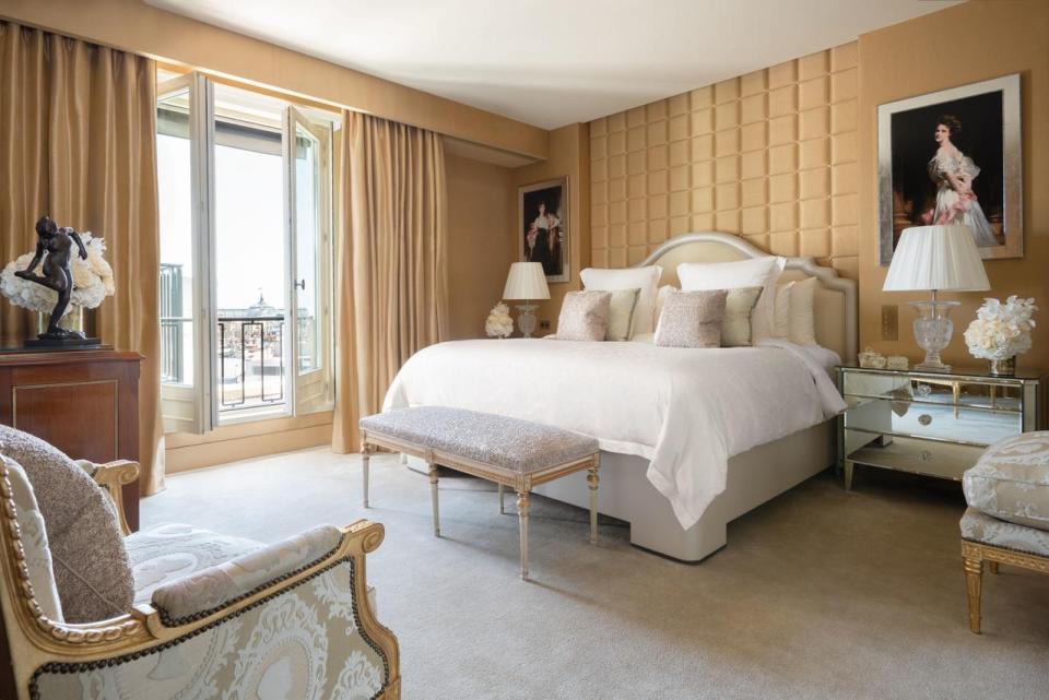 best honeymoon destination Four Seasons Hotel George V Paris