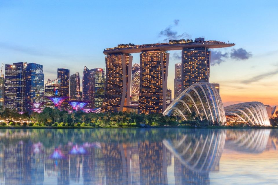 best honeymoon destination Marina Bay Sands