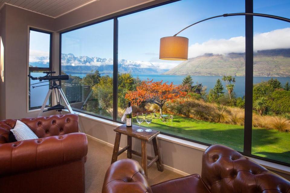 best honeymoon destination Hidden Lodge Queenstown