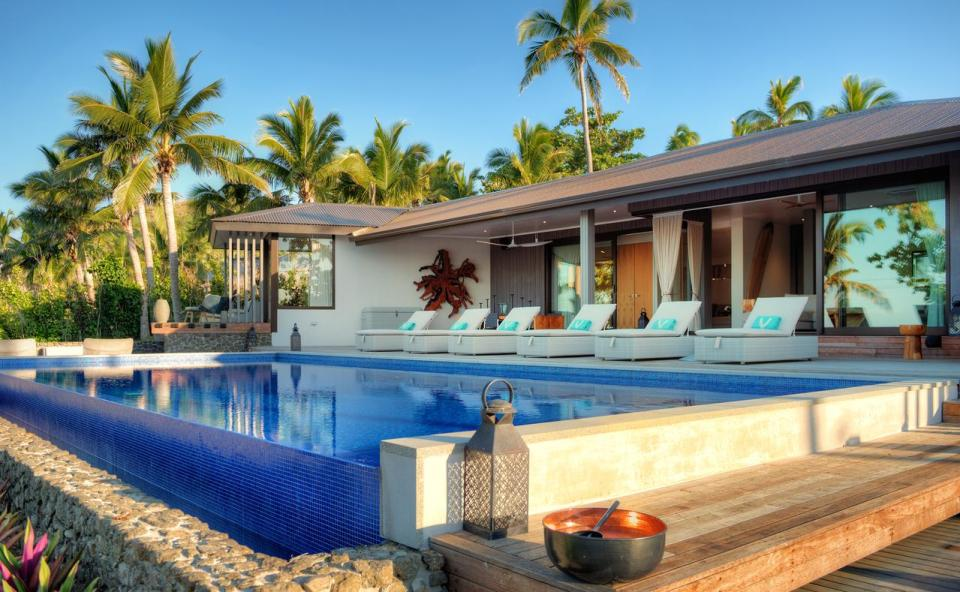best honeymoon destination Vomo Island Resort