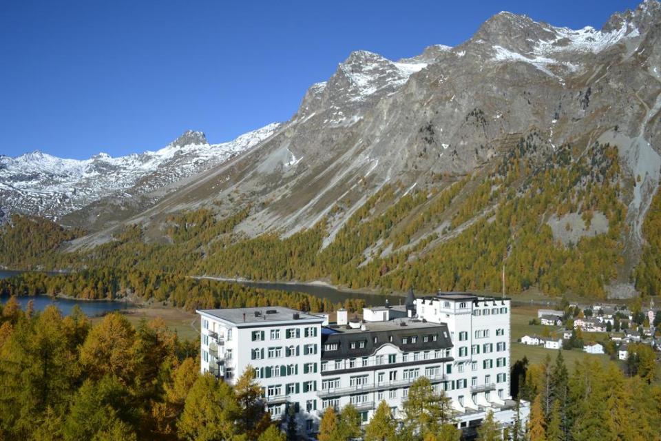 switzerland honeymoon Hotel Waldhaus