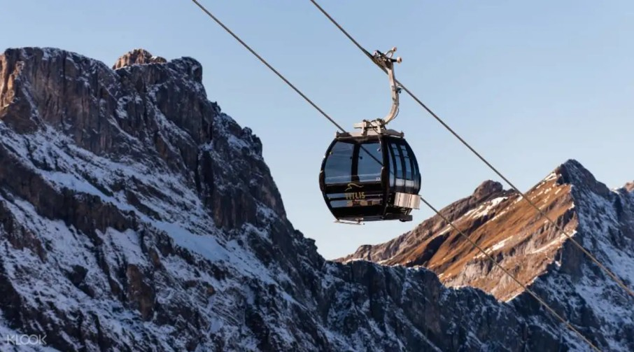 switzerland honeymoon Mount Titlis with Cable Car from Lucerne