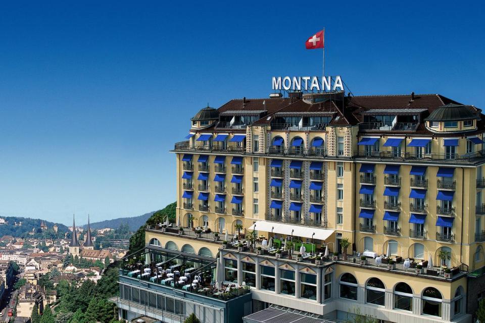 switzerland honeymoon Penthouse by Art Deco Hotel Montana