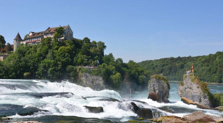switzerland honeymoon Rhine Falls and Stein am Rhein