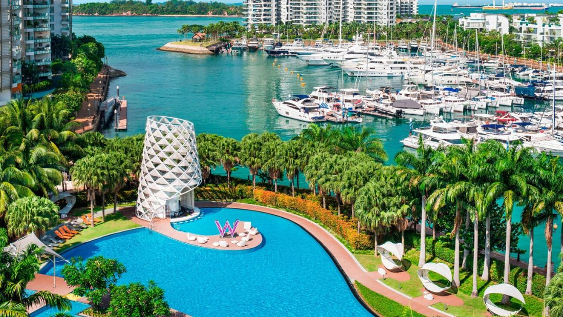 w singapore aerial wedding venues singapore