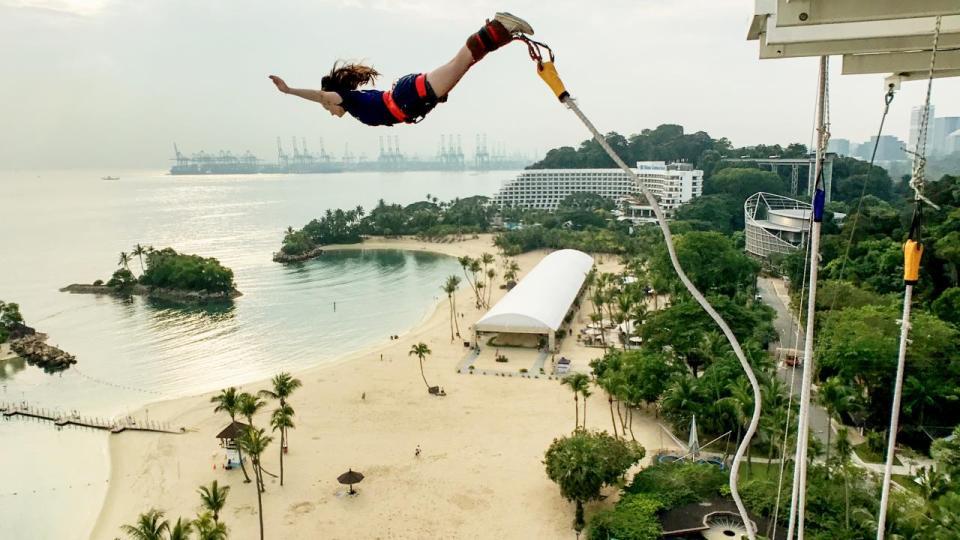 AJ Hackett Sentosa Bungy Jump Singapore
