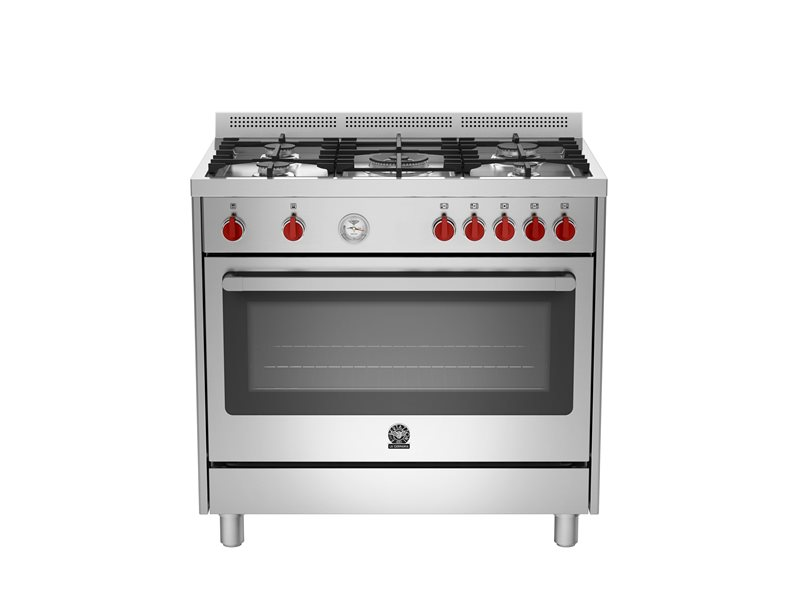La Germania RIS95C61LBX Free Standing Oven (with Stovetop)