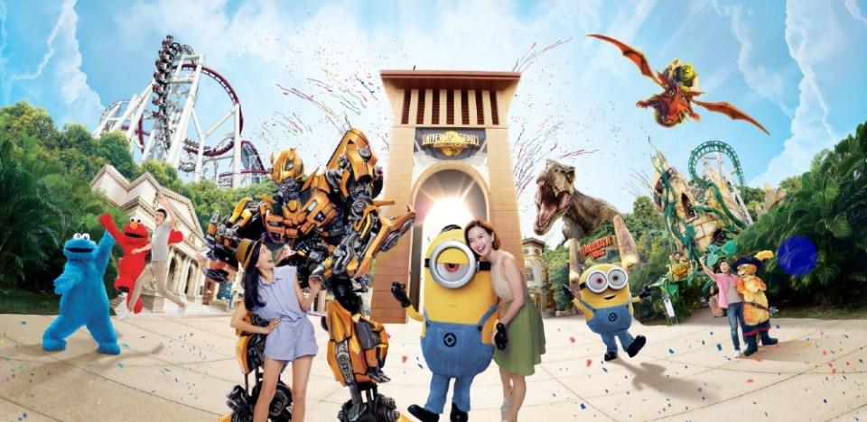 Resorts World Sentosa Universal Studios Singapore Theme Park