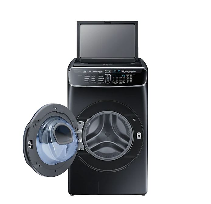 Samsung WR24M9940KV Flexwash 21kg Front Load + 3.5 kg Top Load Washer