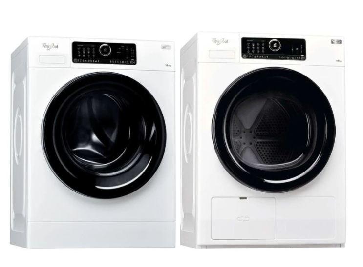 Whirlpool Combo: FSCR10431 10 KG Washer (4 Ticks) & HSCX10431 10 KG Heat Pump Dryer (5 Ticks)