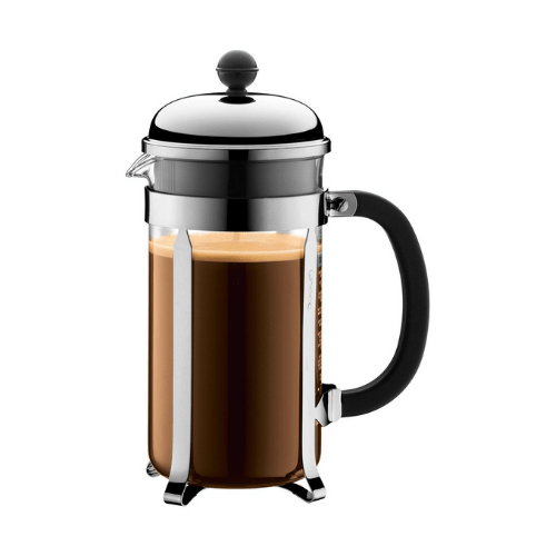 Bodum Chambord Stainless Steel 8 Cup French Press