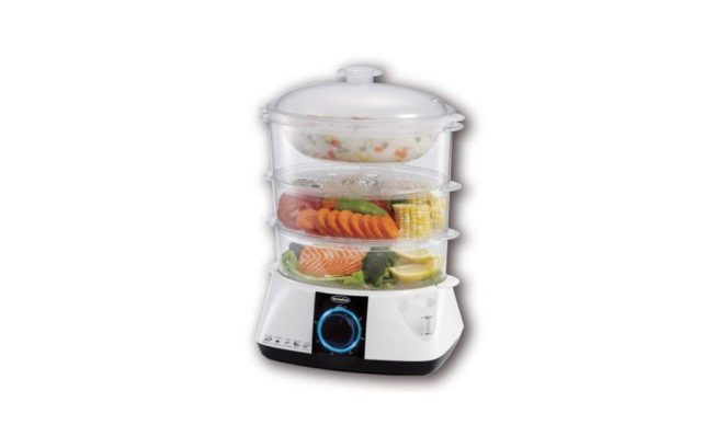 EuropAce 2-in-1 Food Steamer singapore EFSA121