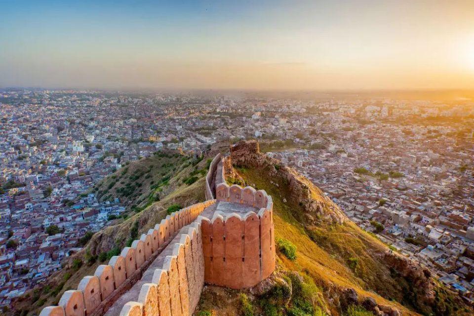 india honeymoon Jaipur Nahargarh and Jaigarh Fort Half Day Tour