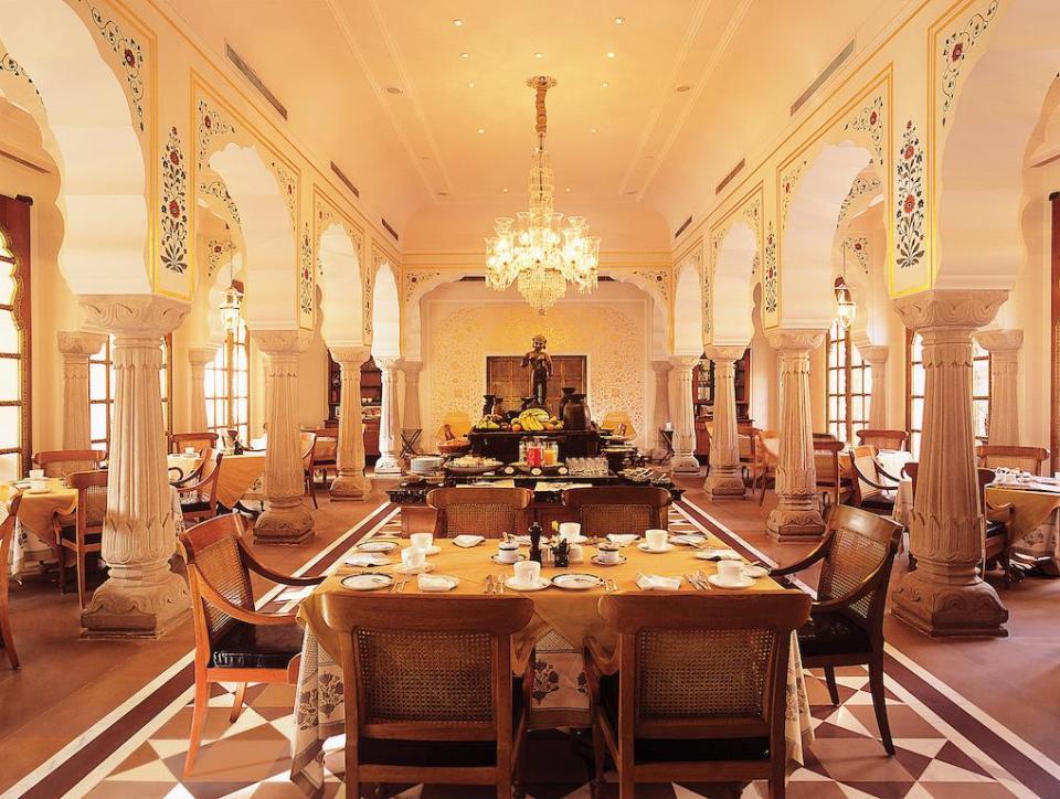india honeymoon The Oberoi Rajvilas Jaipur