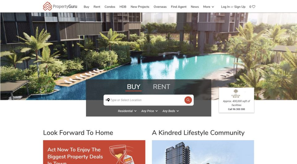 property websites singapore PropertyGuru