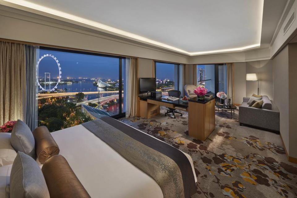 singapore honeymoon Mandarin Oriental, Singapore