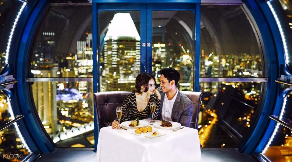 singapore honeymoon Singapore Flyer